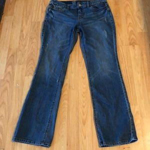 Mossimo Womens Curvy Fit Boot Cut Jeans - Size 8S
